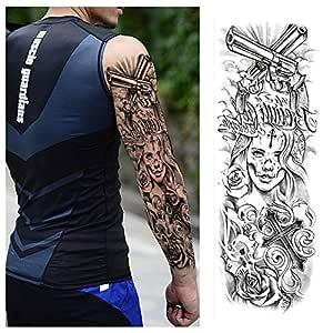 7pcs Tatuaje manga llena del tatuaje del brazo del brazo del ...