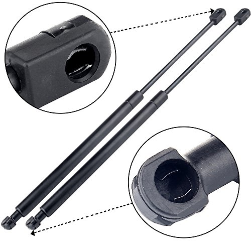ECCPP 2pcs Hatch Lift Supports Struts Rods Gas Springs for 2002-2006 Hyundai Elantra, 2003 2004 Kia Spectra