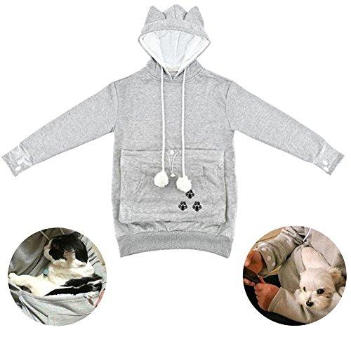 Neue Känguru Pullover Hemd,halte deine Katze (XXL)