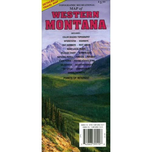 Montana Map: Amazon.com