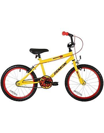 6b276740b8a Sonic Demon kids Wheel 18-inch Bike, Yellow