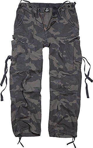 Combat B De Pantalon 1001 Vintage M65 Darkcamo Brandit Homme F3T1lKJc