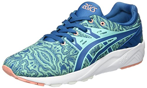 Asics Gel Kayano Trainer Evo Herren Sneaker Blau (King Fisher/Sea Port)