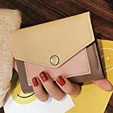 Sinwo Gift!! Women Clutch Short Purse Wallet Card Holder Handbag Bag Coin Purse (Khaki)