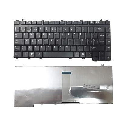 Replacement Compatible Spanish Keyboard Toshiba Satellite A200 A205 A210 A215 L515 L450 L455 L515 A300 A305