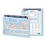 "Chemical Periodic Table of Elements Chart - 8.5"" x 11"" Laminated Chart- Chemistry Quick Reference Guide by Permacharts"