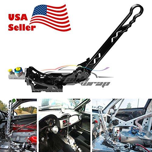 EZAUTOWRAP Black Hydraulic Racing Hand E Brake Drift Rally Drifting Handbrake Aluminium Lever HB05