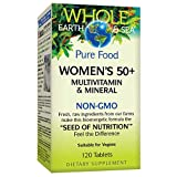 Natural Factors - Whole Earth & Sea Women's 50+ Multivitamin &...