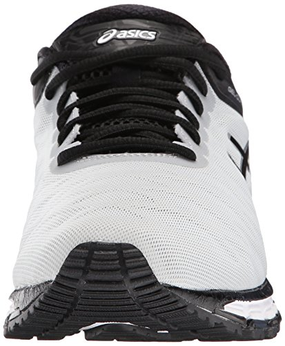 ASICS Mens Gel-Quantum 180 Running Shoe Silver/Black/Ink Blue lD7d1