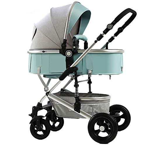 AMENZ Pushchairs,Pram Stroller,Stroller, High Landscape,Away from Automobile Exhaust, Pram to Create a Convenient,Anti-Scratch, from Birth up to 15 kg – M