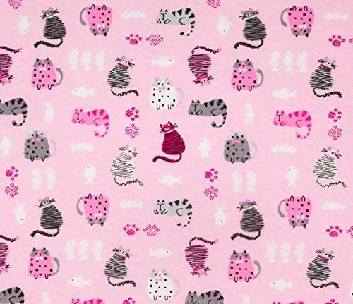 1 Yard Pretty in Pink 100/% Cotton Home Decor Mask Quilting Fabric by Red Rooster Fabrics