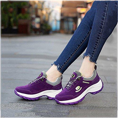 Frauen Koreanische Neue Wasserdicht Outdoor C Klettern YaXuan Wanderschuhe Atmungsaktive Sneaker Dicke Schuhe 39 C Laufschuhe Farbe Größe Bergschuhe Wanderschuhe dwYXw