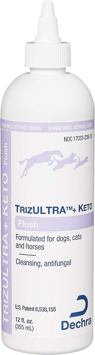Dechra TrizULTRA Plus Keto Flush for Cats and Dogs 12 oz by Dechra