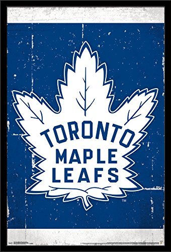 Trends International Wall Poster Toronto Maple Leafs Retro Logo