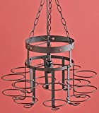 Jar Chandelier Country Decor Wrought Iron Hanging Chain Decoration (Chandelier frame no Jars)