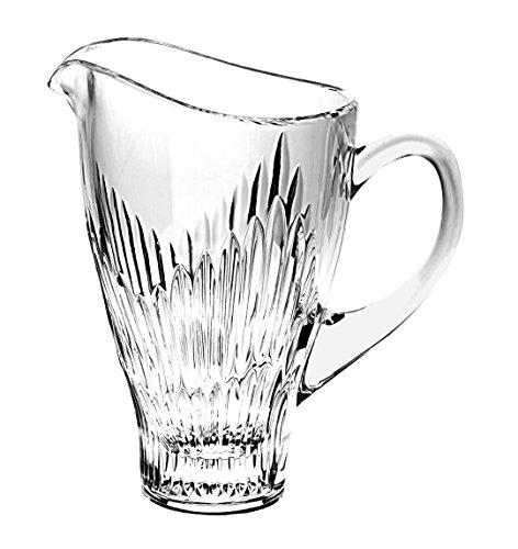 Barski - European Quality - 36 oz. - Cut Crystal - Decorative - Pitcher - 9