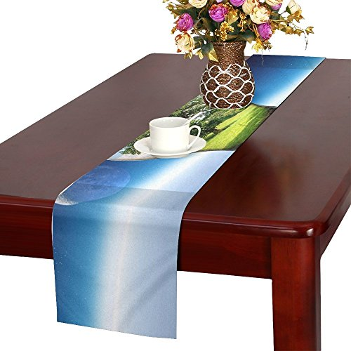 (QYUESHANG Light Tree Summer Pear Lamp Light Bulb Energy Table Runner, Kitchen Dining Table Runner 16 X 72 Inch For Dinner Parties, Events, Decor)