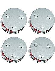 Hmtool Magneetbevestiging rookmelder, magnetische bevestiging voor rookmelders, drie magneten zorgen ervoor dat je grote zuigkracht en levensduur van 10 jaar, net als rooksensoren