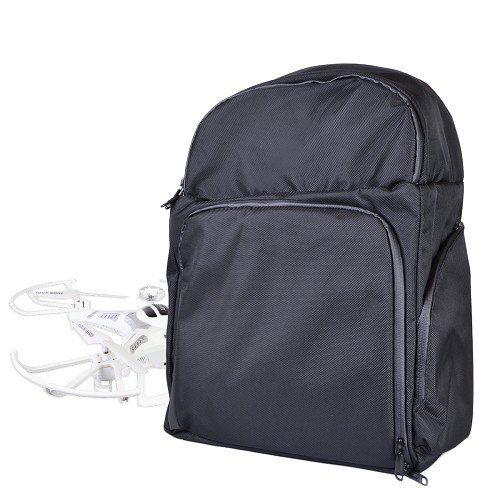 Drone-Water-Resistant-Nylon-Black-Backpack-Bag-Fits-up-to-12-Quadcopter-Drones