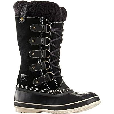 SOREL Women's Joan of Arctic Boots (7.5 B(M) US / 38-39 EUR, Black/Stone)