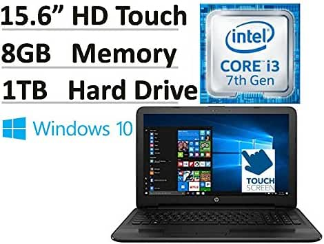 2017 HP Flagship 15.6 15-ay191ms HD Touchscreen Signature Edition Laptop (Intel Core i3-7100u 2.40 GHz, 8 GB DDR4 Memory, 1 TB HDD, DVD Burner, HDMI, HD Webcam, Bluetooth, Win 10)