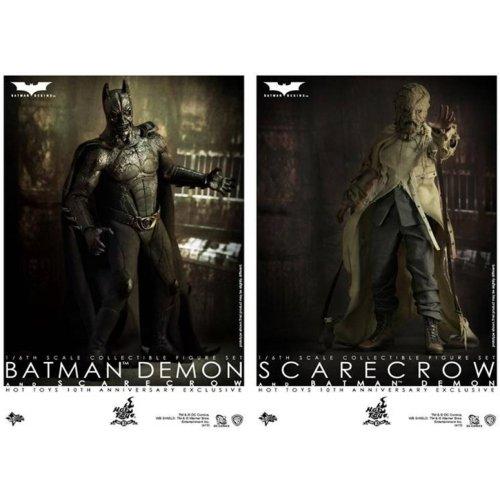 DEMON BATMAN&SCARECROW -鬼バットマン&スケアクロウ- 「バットマン ビギンズ」 ムービー・マスターピース 1/6 アクションフィギュア ホットトイズ10周年記念品