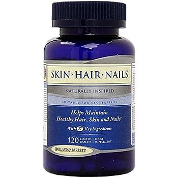 Skin Hair Nails - 120 capsules