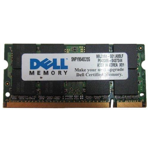 Snpy9540c/2G Dell 2Gb 667Mhz 200-Pin Pc2-5300 Ddr2 Non-Ecc Unbuffered