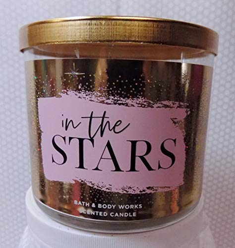 Bath and Body Works NEW In The Stars Scented 3 Wick Candle Winter 2018