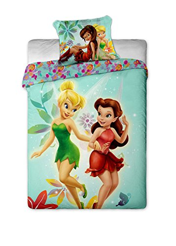 Cute Fairies Print Bedding Set