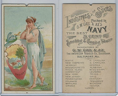 N117 Duke, Gail & Ax, Industries of States, 1889, Indiana for sale  Delivered anywhere in USA
