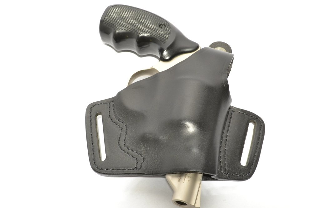UMAREX HOLSTER, Gürtelholster, Leder, für S&W-Revolver mit K-Rahmen ...