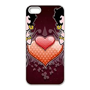 Lucky Betty Boop Cell For SamSung Galaxy S5 Phone Case Cover