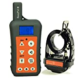 New Version EasyPet EP-380R Ultra Range 1200M Remote Outdoor Hunting Dog Training Collar System With One Rechargeable Waterproof Dog Shock Collar