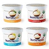 Hummustir: Organic Hummus, Mixed Styles (Mediterranean, Village, Classic, Blazin). Fresh Hummus, Anytime, Anywhere.