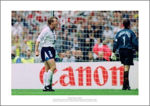 Stuart Pearce Euro 96 Inglaterra V España Pena Shoot Out fotos filmcell factory: Amazon.es: Hogar