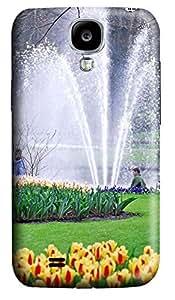 Samsung S4 Case Beautiful Keukenhof Fountain 3D Custom Samsung S4 Case Cover