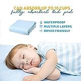 Kids Bed Pad 2 Pack, Waterproof Mattress