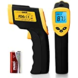 Etekcity Lasergrip 1080 Non-contact Digital Laser Infrared Thermometer, Yellow and Black