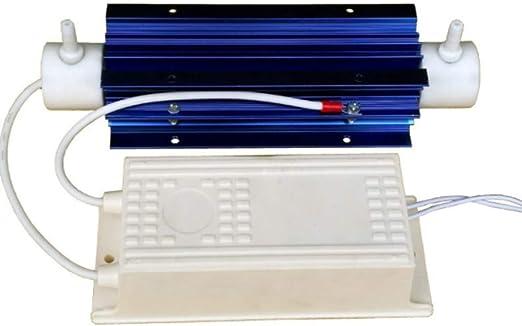 8G/H tubo de cuarzo generador de ozono purificador de agua/aire ...