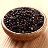 The Spice Lab Black Tellicherry Peppercorn (Whole) - Kosher and Natural Certified Food Grade - 16 Oz. bag