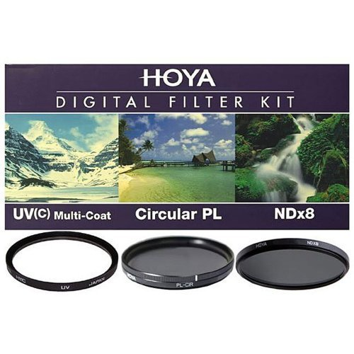 (Hoya 67mm Digital Filter Kit with 3 Filters & Pouch)
