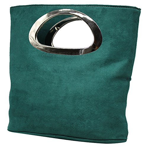 La De Cuero Wocharm Bolso Las Celebridad Del De Mano Diseñador Bolsa De Mujeres Oscuro Las De De Verde De De Bolso Señoras Color Estilo Asas Imitación De aaOxF