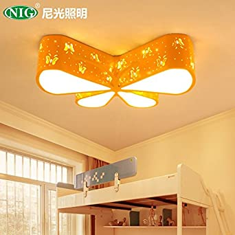 Butterflydance Schmetterling Bügeleisen Deckenleuchte Gelb