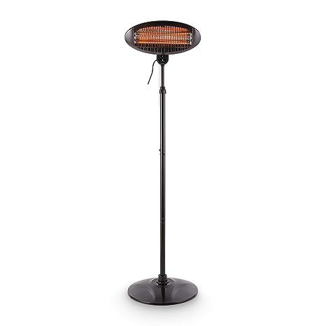 Blumfeldt Shiny Hot Roddy Estufa de terraza • Calefactor de pie Infrarrojo • Radiador de Calor