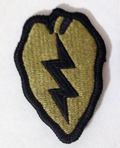 - 25th Infantry Division Multicam OCP Scorpion Camo Hook Fastener Patch Made USA