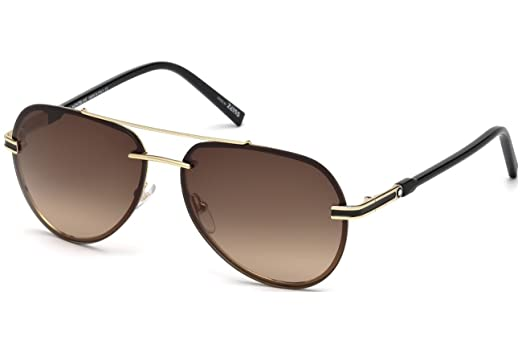 d03add879b8d Sunglasses Montblanc MB 643 S MB 643 S 32F gold / gradient brown at ...