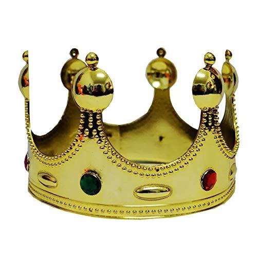 thematys Corona para cumpleaños niños en Oro y Amarillo con ...