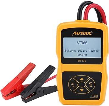 12V 100-2400 CCA 220Ah Load Battery Tester Digital Analyzer Bad Cell Test Tools