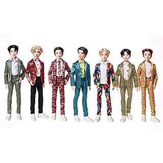 BTS Idol Core Fashion Doll, Bangtan Boys Doll Bundle, Set of 7